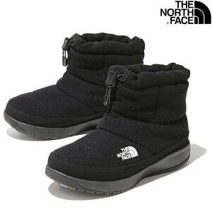 THE NORTH FACE W NUPTSE BOOTIE WOOL V SHORT NFW51979 K TNF BLACKザ ノースフェイス ウイメンズ ヌプシ ブーティー ウール V ショート ブラック レディース ウインター スノー ブーツ