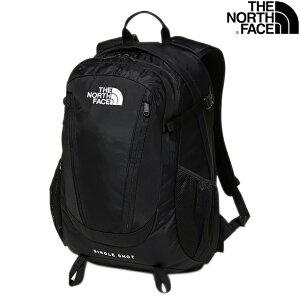 THE NORTH FACE SINGLE SHOT 23L DAYPACK NM71903 K BLACKザ ノースフェイス ザ・ノース・フェイス シングルショット ブラック デイパック バックパック アウトドア トレッキング