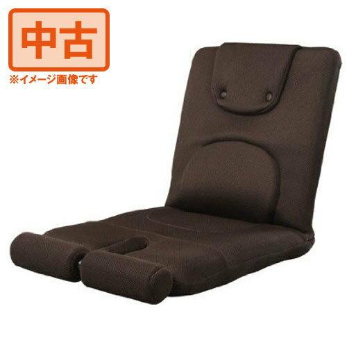 【中古】ミズノmizuno じつは!腹筋くんライト ダークブラウン 座椅子型腹筋台