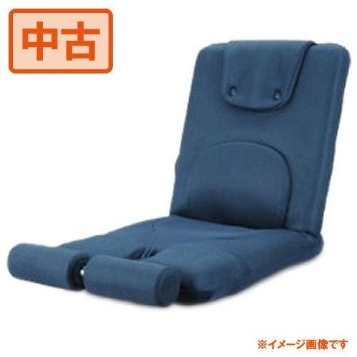 【中古】ミズノmizuno じつは!腹筋くんライト ネイビー 座椅子型腹筋台