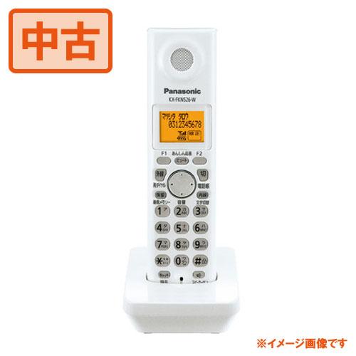【中古】Panasonicパナソニック 増設子機 KX-FKN526-W 無接点充電 電話機/FAXに