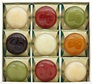 渋谷西村 国産フルーツゼリー(9個入) 【 国産のフルーツ原材料から、果肉感 たっぷりの6種類の フルーツゼリー を作りました 】 | ギフト 贈答用 贈答品 贈り物 お土産 入学祝い 母の日 お
