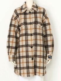 [Rakuten Fashion]ウールチェックシャツJK SNIDEL スナイデル コート/ジャケット コート/ジャケットその他 ブラウン【送料無料】