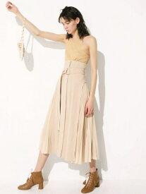 [Rakuten Fashion]スウィッチパターンSK SNIDEL スナイデル スカート フレアスカート ベージュ ブラック ホワイト【送料無料】