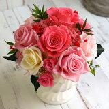プリザーブドフラワーギフトブリザーブドフラワー母の日誕生日プレゼント花結婚祝い新築祝い退職祝い送別会花開業祝い開院祝い開店祝いマダムローズ