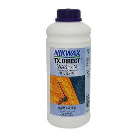 ニクワックス NIKWAX TX.DIRECT WASH-IN 〔強力撥水剤〕 BE253〔1リットル〕 スキー スノーボード