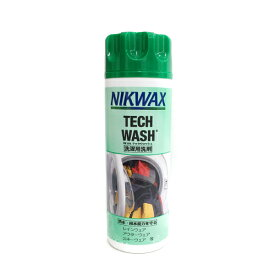 ニクワックス NIKWAX テックウォッシュ TECH-WASH 〔撥水生地用 洗濯洗剤〕EBE181 300ml スキー スノーボード