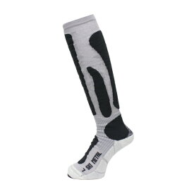 18-19 X-SOCKS〔エックスソックス〕SKI METAL〔スキーメタル〕X020295〔シルバー〕 スキー スノーボード 靴下