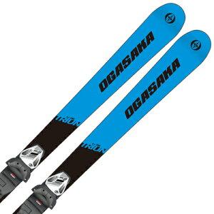 オガサカ ジュニア スキー板 ビンディング セット OGASAKA 19-20 TRIUN トライアン G-Junior + SLR 7.5 GW AC 取付無料 2020