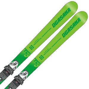 オガサカ ジュニア スキー板 ビンディング セット OGASAKA 19-20 TC-JUNIOR ティーシージュニア TC-J + SLR 7.5 GW AC 取付無料 2020