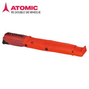 アトミック スキーケース 2台用 ATOMIC <20-21> RS DOUBLE SKI WHEELIE RS ダブル スキー ウィーリー RED/RIO RED /AL5047610 2021 NEWモデル