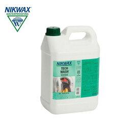 ニクワックス NIKWAX テックウォッシュ TECH-WASH 〔撥水生地用 洗濯洗剤〕EBE185 5L スキー スノーボード
