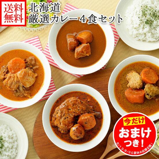 北海道スープカレー4食セット