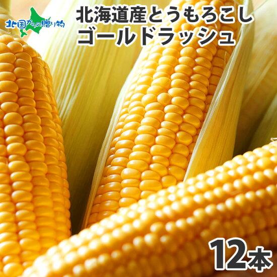 北海道産とうもろこしゴールドラッシュ12本