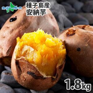 種子島産 安納芋 1.8kg前後 さつまいも サツマイモ 焼き芋 蜜芋 送料無料 安納芋 種子島 お取り寄せ グルメ 産直 産地直送 安納いも さつま芋 やきいも 焼きいも に 北国からの贈り物 ◆出荷予