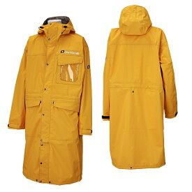 オンヨネ スキー オーバージャケット ポンチョ OVER JACKET メンズ ONJ93999-11 175(イエロー)