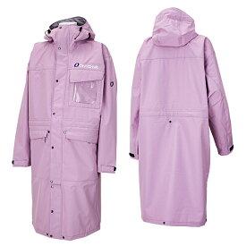 オンヨネ スキー オーバージャケット ポンチョ OVER JACKET メンズ ONJ93999-14 971(ピンク)