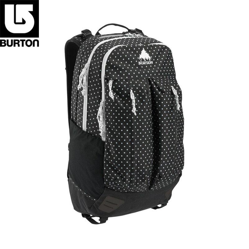 【お買い得商品です】 BURTON バートン BRAVO PACK ブラボーパック バックパック 29L 13645103 103(BLACK POLKA DOT)