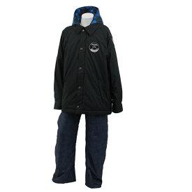 ONYONE(オンヨネ) RES70009 スキーウェア 上下セット ジュニア (ブラックxデニム) RES70009