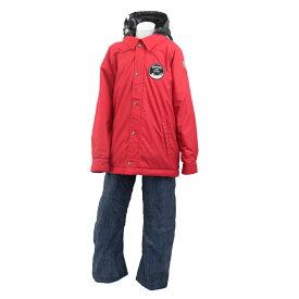 ONYONE(オンヨネ) RES70009 スキーウェア 上下セット ジュニア (レッドxデニム) RES70009