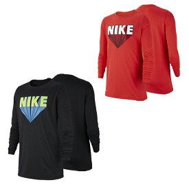 【メール便OK】NIKE(ナイキ) AA8896 ジュニア ロングTシャツ マーベルモチーフ 通学 体育