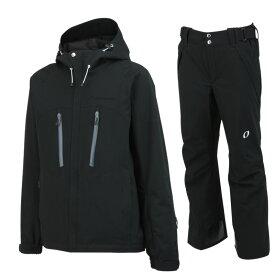 ONYONE(オンヨネ)スキーウェアセット ONJ90301とONP90400の上下セット on90301set 009009(ブラックxブラック)