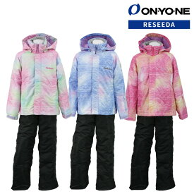 ONYONE(オンヨネ) RES62004N スキーウェア ガールズ ジュニア 上下セット 中学生 130 140 150 160サイズ