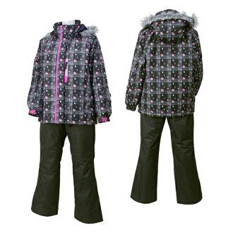 02P05Nov16 斯伯丁 (Spalding) 成人女士妇女滑雪 SPL 6541 BLACKxCHAR (黑色 x 木炭)