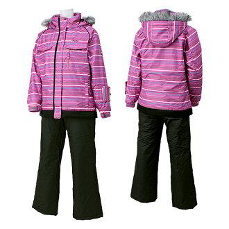 SPALDING(斯波尔丁)女子的女性用的滑雪服SPL-6543 DPINK(D粉红/木炭)