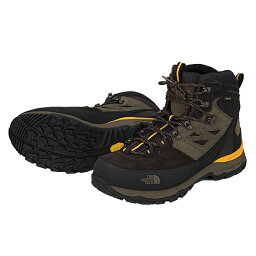 ★用平郵★THE NORTH FACE(北臉)Verbera(verubera)Hiker I GTX登山、山間途步登山靴鞋NF01216 YB(TNF黄色×demitasseburaun)