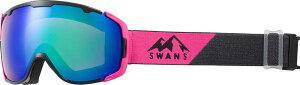 SWANS(スワンズ) 150-MDHS 成形球面ミラー ダブルレンズ スノーゴーグル スキー スノーボード 大人用