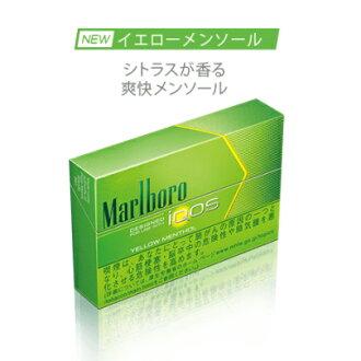 NEW iQOS Yellow menthol Marlboro heat stick yellow menthol 500yen: 2+snus  950yen: 1
