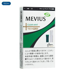 MEVIUS Clear Mint for Ploom TECH PLUS メビウス・クリアミント・フォー・プルーム・テック・プラス :2+snus 950yen:2