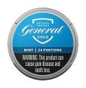 ジェネラル ミント 24g 煙の出ないたばこ スヌース