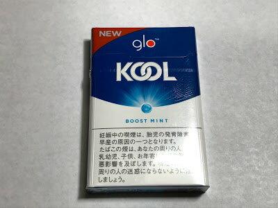 NEW glo グロー KOOL neostik BOOST MINT クール ネオステック ブースト ミント 490円 :2 +snus 950円 :1