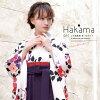 Hakama 4-piece set baby pink red purple Camellia Camellia flower Quinceanera graduation ceremony party wedding