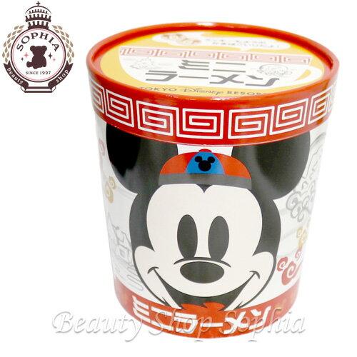 ミッキーマウス ミニーマウス ミニラーメンインスタント麺 しょうゆ味 お菓子 お土産【東京ディズニーリゾート限定】