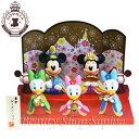 ミッキー&フレンズ ひな人形(三人官女) ひな祭り 2020 おひな様 ひな飾り ディズニー 雛人形 ひな人形 桃の節句デ…