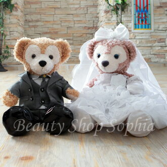 New products! Duffy shelliemay wedding costumes set / plush (sold separately) original handmade welcome bear wedding gift wedding dress Tuxedo (gray) set S size costume Duffy toy