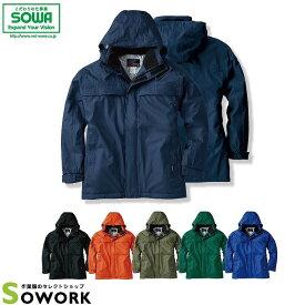 SOWA 2806 防水防寒コート M-LL 【作業服 作業着 桑和 秋冬 レインウェア アウター メンズ レディース】