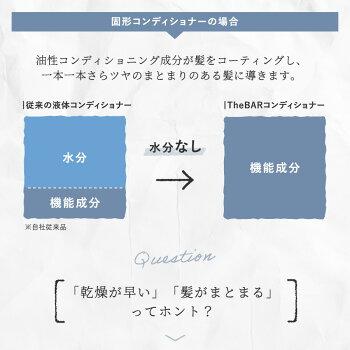 【店内全品ポイント10倍!5/271:59まで】TheBAR【ミニサイズです】トライアルセットお試し国産日本製固形シャンプー固形コンディショナーエシカルサスティナブルトラベルセットサバーサ・バーやさしい脱プラ
