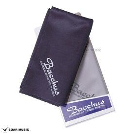 Bacchus バッカス スーパーファインクロス Super Fine Cloth ギター・ベース用 クリーニングクロス 汚れ拭き グレー or 紺色