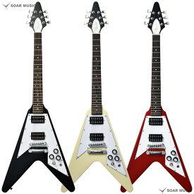 Bacchus ミニサイズギター フライングVタイプ BFV-mini バッカス エレキギター ユニバースシリーズ