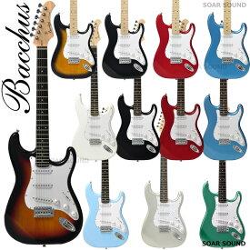 【安心の初期調整済】 Bacchus バッカス BST-1R / BST-1M ストラト タイプ エレキギター 初心者 入門用 にも ギター エレキ ストラトキャスター BST-1 BST1