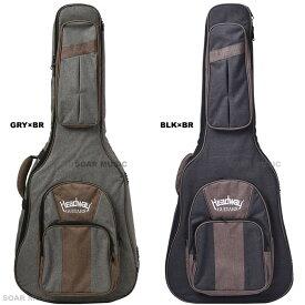 Headway アコースティックギター用ギグケース ギグバッグ ヘッドウェイ HGB-110 BLKxBR or GRYxBR