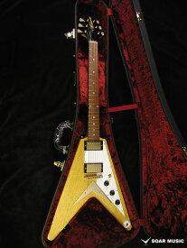 フライングV モデル MFV・K-STD/NJ NA WH3P-PG MOMOSE / モモセ エレキギター コリーナボディ 国産 日本製 ハンドメイド 変形 ギター