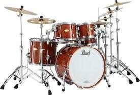 【スネア付属・5点セット】Masterworks Natural Bubinga / Pearl パール ドラムセット ドラム