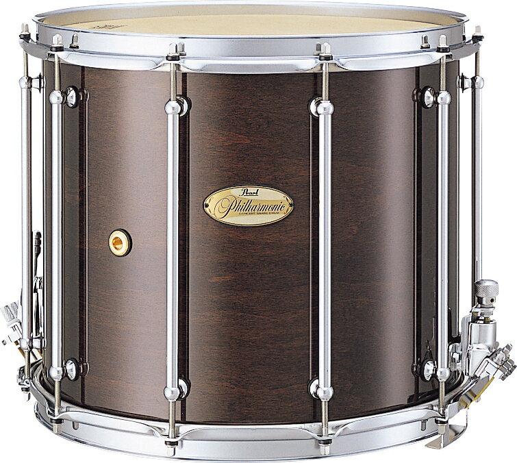 """14"""" x 12"""" フィルハーモニック フィールドドラム Philharmonic Field Drums PHF1412 ハイグロス・ウォルナット・ラッカー Pearl / パール コンサートスネアドラム"""