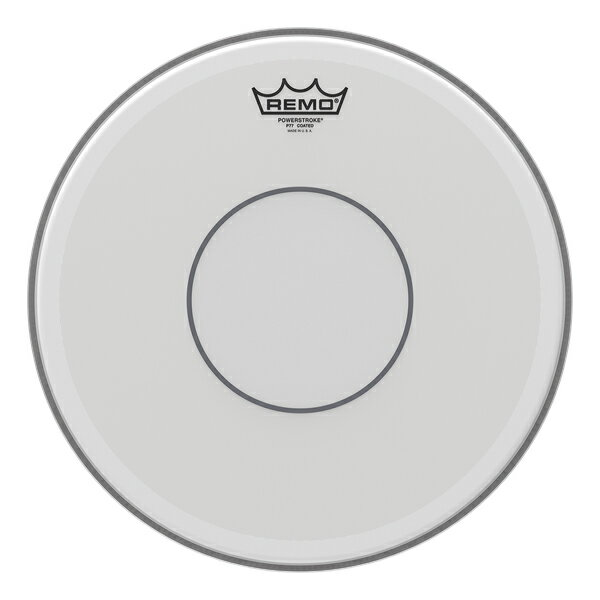"""REMO レモ 14"""" パワーストローク77 コーテッド ヘッド スネア用 P7-114 スネアドラム用 POWER STROKE 77 COATED スネア スネアドラム 打面 打面用 スネアヘッド ドラムヘッド 皮 小太鼓"""