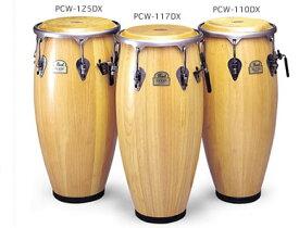 Pearl パール Elite Wood Congas エリート・ウッドコンガ 3本セット キント コンガ トゥンバ